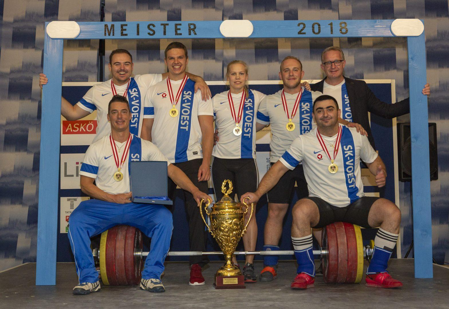 SK VÖEST Linz Gewichtheben